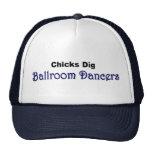 """""""Chicks Dig Ballroom Dancers"""" hat"""