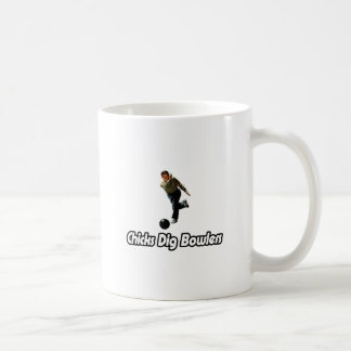 Chicks Dig Bowlers Coffee Mug
