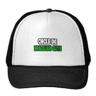 Chicks Dig Brazilian Guys Trucker Hats