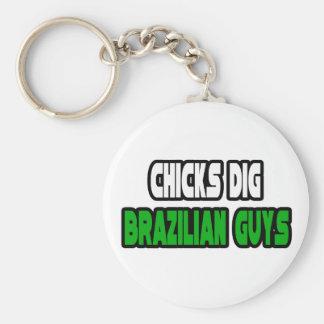 Chicks Dig Brazilian Guys Key Chains