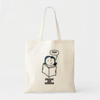 Chicks Dig Comics Tote Bag