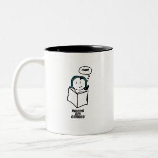 Chicks Dig Comics Two-Tone Coffee Mug