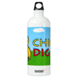 Chicks dig me! aluminum water bottle