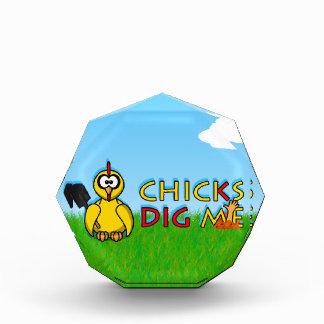 Chicks dig me! award