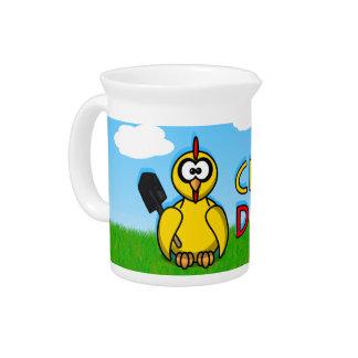 Chicks dig me! drink pitcher