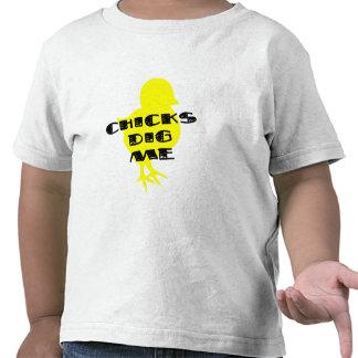 Chicks dig me toddler boys t-shirt