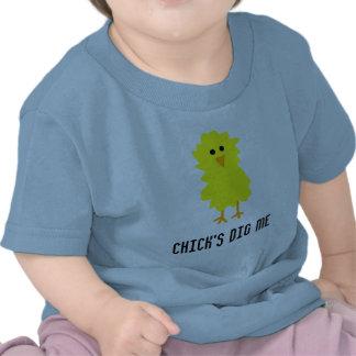CHICK'S DIG ME TEES