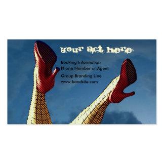 Chicks Dig Musicians Business Card