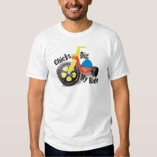 Chicks Dig My Ride Tee Shirt