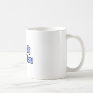 Chicks Dig Police Officers Classic White Coffee Mug