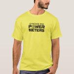 Chicks Dig Power Meters T-Shirt
