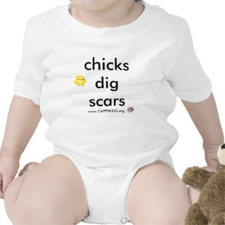 Chicks Dig Scars CAPPSKIDS Bodysuit