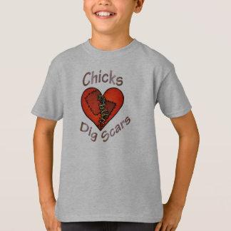 Chicks Dig Scars T-Shirt