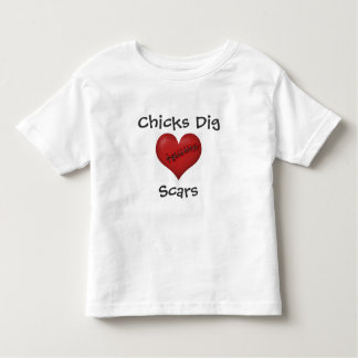 Chicks Dig Scars T-shirts