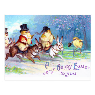 Chicks Easter Ride Postcards