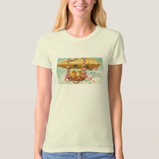 Chicks Fly in a Airship T-Shirt