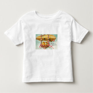 Chicks Fly in a Airship Toddler T-shirt