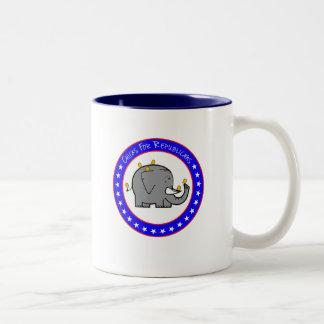 chicks for republicans mug