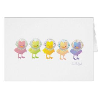 Chicks Greeting Card