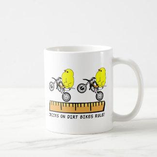 Chicks On Dirt Bikes Rule Motocorss Mug
