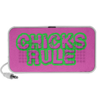 Chicks Rule Audio Speaker