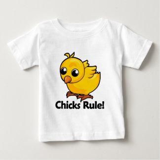 Chicks Rule! Baby T-Shirt