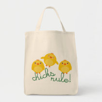 CHICKS RULE! - bag