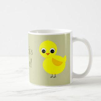 Chicks Rule! Classic White Coffee Mug