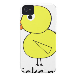Chicks Rule iPhone 4 Cover