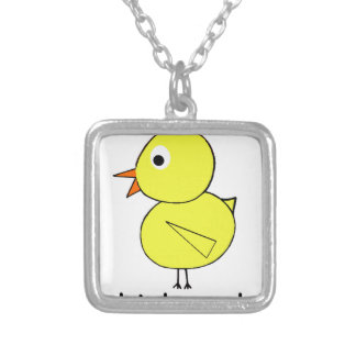 Chicks Rule Silver Plated Necklace