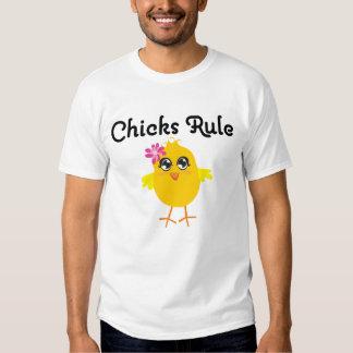 Chicks Rule Tshirts
