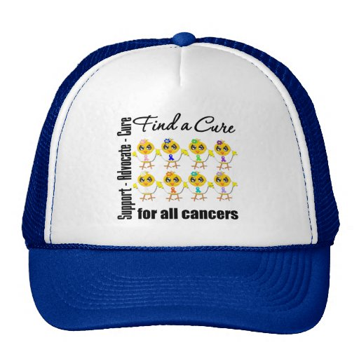 Chicks United to Find A Cure For All Cancers Trucker Hat