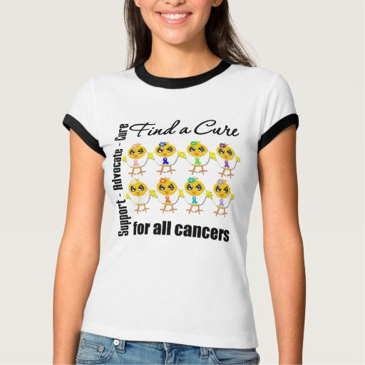 Chicks United to Find A Cure For All Cancers Tshirts