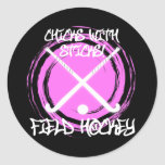 Chicks With Sticks - Field Hockey Stickers