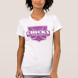 Chicks With Sticks Hockey Tanktops - Customized