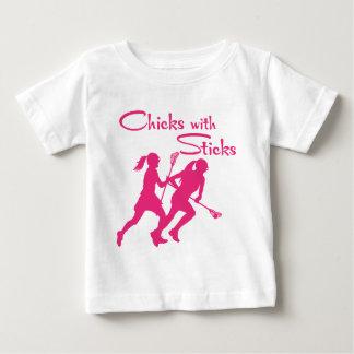 CHICKS WITH STICKS - LAX BABY T-Shirt