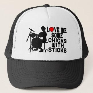 Chicks With Sticks Trucker Hat