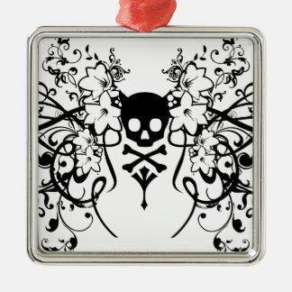 chickscroll metal ornament
