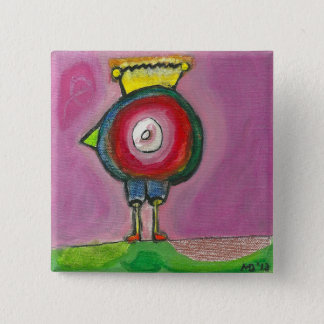 CHICKWOMAN Button