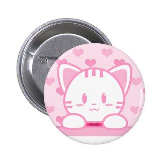 Chicle - botón del gatito