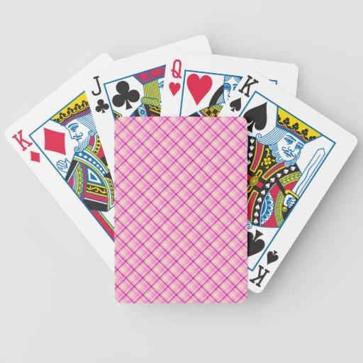 Chicle rosado cartas de juego