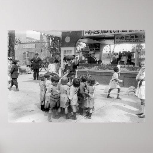 Chicloso de Atlantic City, los años 20 Póster