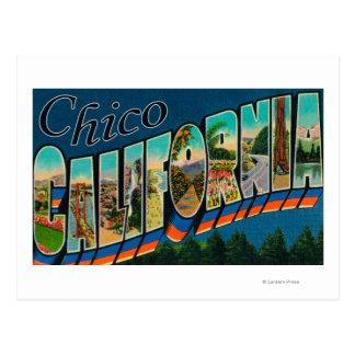 Chico, California - escenas grandes de la letra Postal