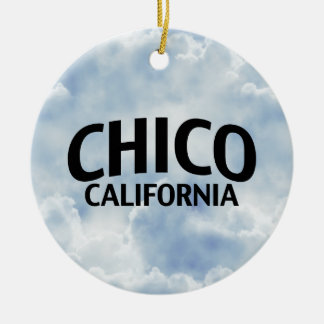 Chico California Christmas Tree Ornaments