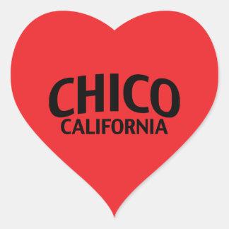 Chico California Heart Sticker