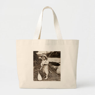 Chico del campo - vintage Stereoview Bolsas