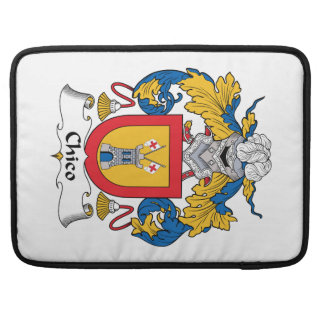 Chico Family Crest Sleeves For MacBooks