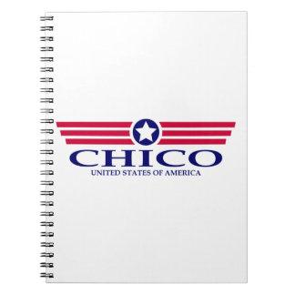 Chico Pride Spiral Notebook