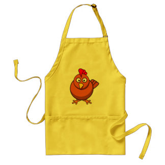 Chico the Chicken Rooster Cartoon Bird Adult Apron
