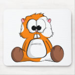 Chico the Hamster Mouse Pad